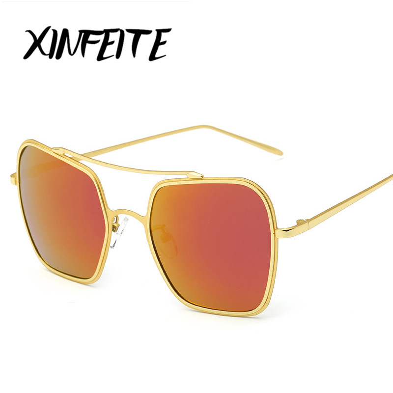 XINFEITE 2017 Womens Sunglasses Summer Style Newest Sun Glasses Brand Designer Female Metal Frames Retro Sun Oculos For Women<br><br>Aliexpress