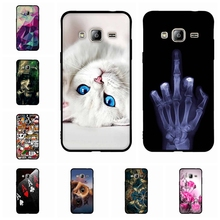 Cover For Samsung Galaxy J1 J3 J5 J7 2016 Case 3D Soft Silicon TPU Bags Cat Funda Coque For Samsung J1 J3 J5 J7 2016 Phone Cases(China)