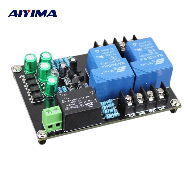 Assembled 30A High Power Amplifier Speaker Protection Board Module AC 110V~220V