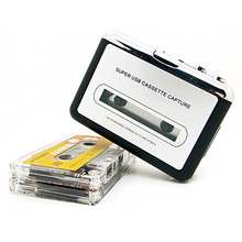 New USB cassette capture Player,Tape to PC, Super Portable USB Cassette-to-MP3 Converter Capture hot selling