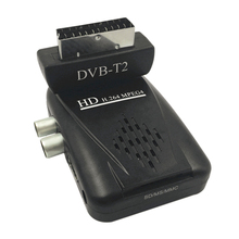 Mini HD Scart SAT DVB-T2 TV Receiver H.264 DVB-T2 Digital TV Satellite Receiver Support  Terrisal DVB-T2 OTA function