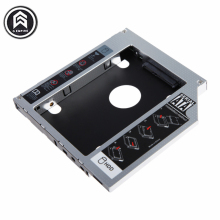 "Universal 9.5mm Aluminum HDD Caddy SATA 3.0 for 2.5"" SSD Case HDD Enclosure for Notebook CD-ROM hard drive bracket free shipping"