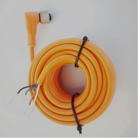 5PCS 5m cable M12* 1 NPN /PNP NO+NC 4 wires /pins Female angle ...