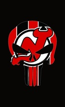 New Jersey Devils sports team flag 3x5FT 100D Polyester Digital Printing Metal Grommets Customized skull flag
