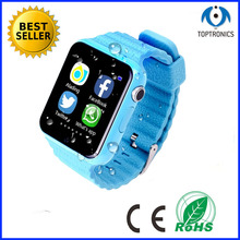 Original boy girl GPS Bluetooth Smart Watch for kids watchphone support SIM /TF dial call facebook for ios android pk q50