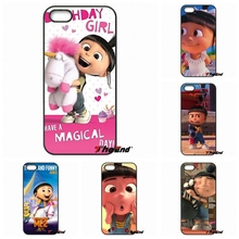 Cute Agnes Despicable Me Minion Phone Cover Case For iPhone 4 4S 5 5C SE 6 6S 7 Plus Galaxy J5 J3 A5 A3 2016 S5 S7 S6 Edge