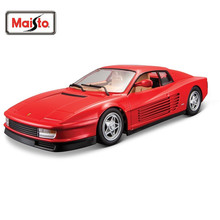 Maisto Bburago 1:24 TESTAROSSA Diecast Model Car Toy New In Box Free Shipping