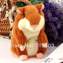 free shippig by fedex,dhl  Hamster talking Plush Animal Toy Speaking Pet Electronic Talking Hamster For kids