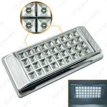 1PC High Quality White 36 LED Car Interior LED Lights Dome Ceiling Roof Lamp for Vehicle Auto Caravan #CA3073