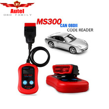 Hot Sale for Autel Maxiscan MS300 OBDII OBD2 Car Auto Diagnostic tool Code Reader Scan Tool CAN BUS Free shipping