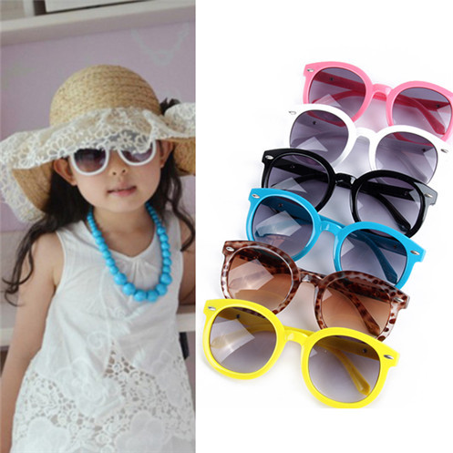 Kids Boy Girl Toddlers Fashion Round Sunglasses Arrow Style Eyeglasses Spectacles UV400 Protection Sun Glasses 6 Colors<br><br>Aliexpress