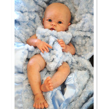 New Arrival Sililcone Reborn Baby Doll Kit, Soft Silicone Vinyl Reborn Doll Kit Lifelike Real Touch Unpainted
