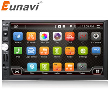 Eunavi Universal 2 din Android 6.0 Car Radio GPS Navi+Wifi+Bluetooth+quad core CPU+DDR3+Capacitive Touch Screen+car pc+stereo