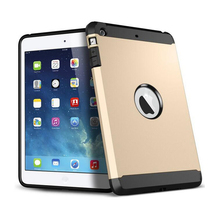"7.9"" 9.7"" High Quality Hard PC Hybrid Armor Tablet Case for Ipad mini 2 3 Slim Cover Case for ipad air 1 Free Shipping"