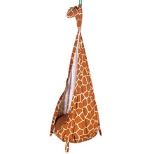 The giraffe design baby swing chair hanging basket children safety chair rocking swing chair(China)