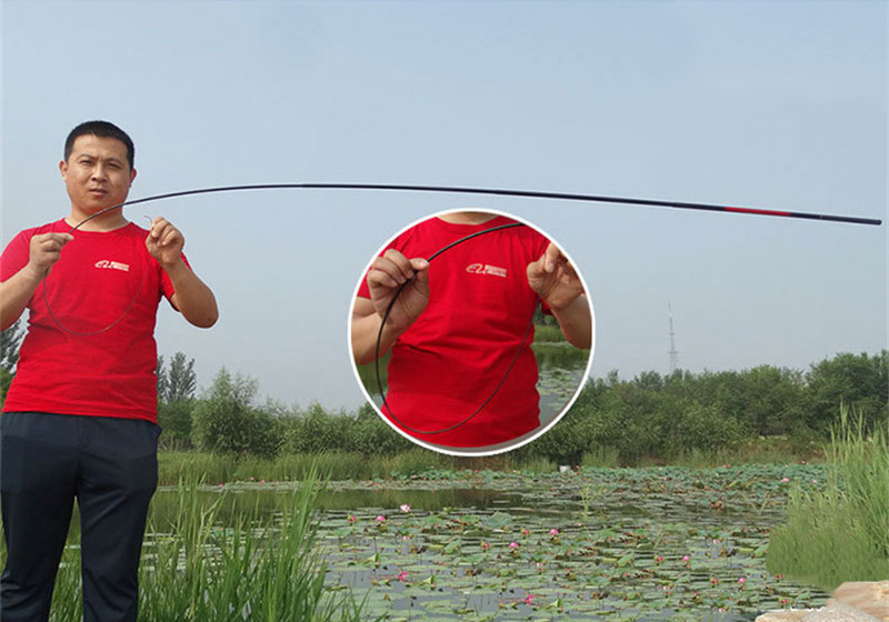 High Strength Fiberglass Carp Fishing Rod Telescopic Hand Pole River Lake Stream Fishing Rod 2.1M2.7M3.6M4.5M5.4M6.3M7.2M (3)