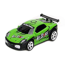 ABWE Best Sale Mini RC Remote Controlled Car Racing Car Toys in the beverage can 1:58 (Green) New(China)