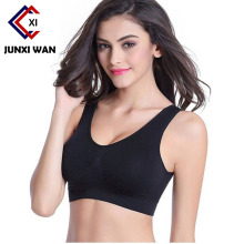 Brand Sports Bra Push Up Bras For Women Bralette Deep U Plunge Cross Strappy Tank Tops Vest Running Wireless Underwear WWX0032