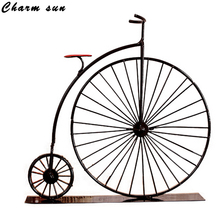 Nostalgic Vintage Bicycle Models Groceries Metal  Mediterranean Style Bar Gatherings Arts And Crafts  Creative Home Decor