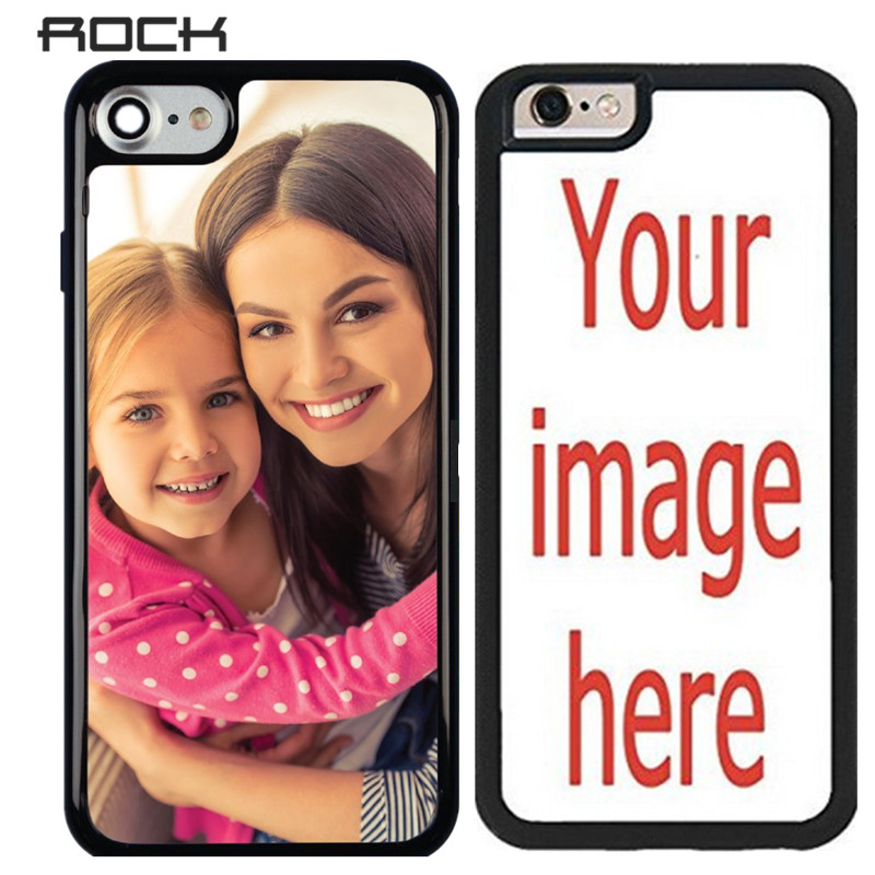 ROCK Custom Phone Case for iphone 7 7 Plus Cover Unique DIY Personalized Customized Picture Photo Ultra Thin Soft Silicone Case(China (Mainland))