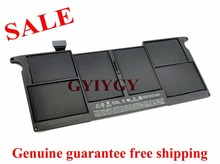 "free shipping  A1495 Battery For Apple Macbook Air 11"" A1370 2011 A1465 2012 2013 MD711*/A, MD711CH/A,"