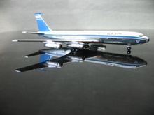 1:500 Israeli Airlines Boeing 707 4X-ATY aircraft model(China)