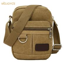New Latest Vintage Classic Canvas Messenger Bags Mini Casual Style Shoulder bag Messenger Bag for boys Mini Bag Men Satchel(China)