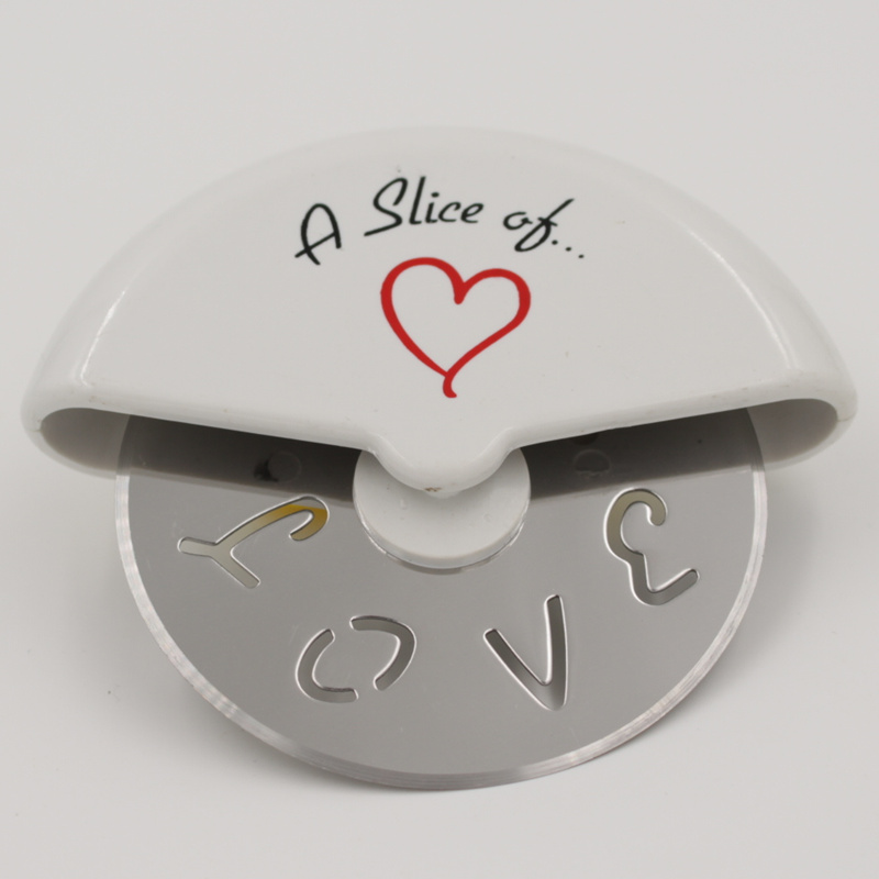 A slice of Love Pizza Cutter Wedding Decoration gifts for guests Bridal Baby shower favor Birthday party decoration kids(China (Mainland))