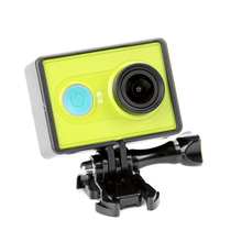 QQT for xiaomi yi camera standard protection + basic mount & screw camera auto kit for xiaomi camera accessories