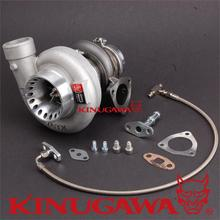 "Turbocharger Kinugawa 4"" Anti-surge T67-25G Oil Cooled Triangle Cast / Billet wheel(China)"