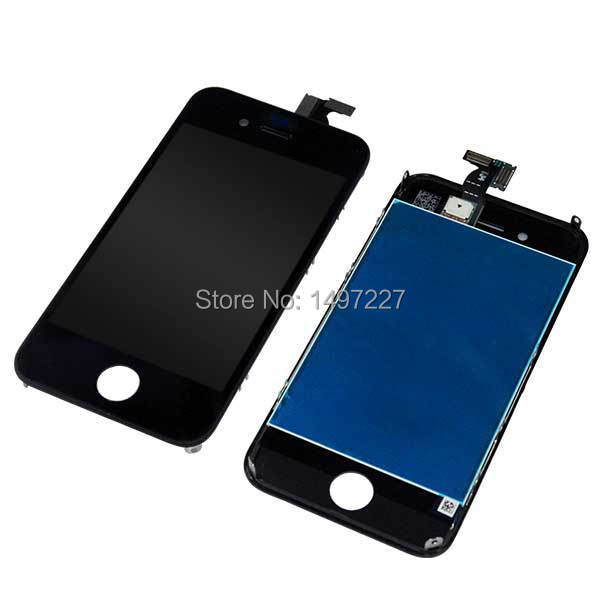 AAA Test one by one no dead Pixels For iphone 4G Full Front LCD With Touch Screen Digitizer Assembly Black<br><br>Aliexpress