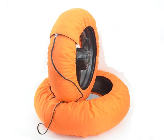 orange tire warmer 2