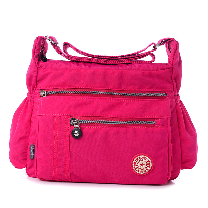 2017 New Fashion Women Messenger Bags Shoulder Bag Waterproof Nylon Crossbody Bag For Women Multilayer Handbag Women Bag KB-010<br><br>Aliexpress