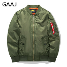 2017 New Men Brand Bomber Jacket Winter Army Green Military Style Breathable jaqueta Jackets Pilot Coat Mens Militar Windbreaker(China)