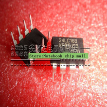 Free shipping 10pcs/lot 16K I2C bus serial EEPROM 24LC16 24LC16B 24LC16B-I / SN original Product(China)
