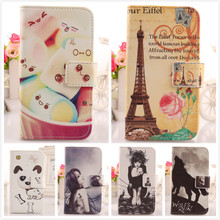 AIYINGE  1 Piece Case For Apple ipod Touch 4 4G Hot Item Accessories Colored Drawing Design Leather Flip Protection Shell Cover