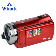winait 16MP Digital Camera HD 720P Photo Video Camcorder 16X Zoom Anti-shake DV LED Fill Light Non-touch Cheap Camera(China)