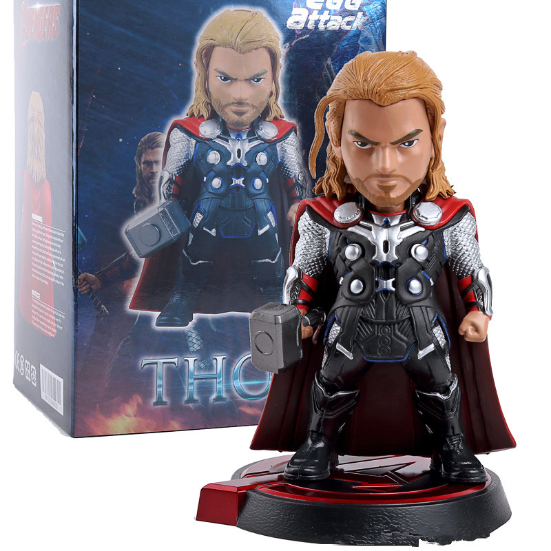 Avengers Age of Ultron Egg Attack Thor PVC Action Figure Collectible Model Toy 8 20cm HRFG512<br><br>Aliexpress