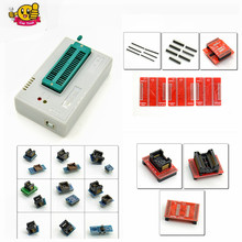 Newest V6.1 TL866CS Programmer +21 Adapters +IC Clip High Speed TL866 AVR PIC Bios 51 MCU Flash EPROM Programmer