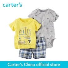 Carter's 3pcs baby children kids Little Short Set 121H170,sold by Carter's China official store(China)