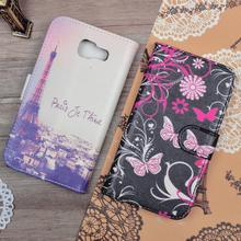 Printing Pattern PU Leather Cover For Samsung Galaxy A5 2016 A510F High Quality Case For Samsung A510F Flip Smart Phone Bags