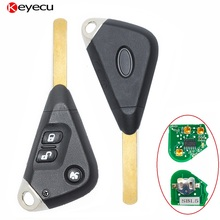 Keyecu Remote Key for Subaru Outback Liberty Impreza 2003 2004 2005 2006 2007 2008 2009 2010,3 Button 433MHz 4D62 Car Key Subaru(China)