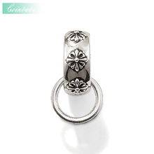 Charm Carrier Flower Trendy Gift For Women & Men, Thomas Style Soul Jewelry TS 925 Sterling Silver Fashion Jewelry Wholesale