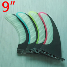 FUTURE FINS  size 9inch WIR SURFBOARD LONGBOARD SUP FIN HONEYCOMB CARBON  New surf fins