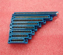 PCB Mounting 805 Series 3.96mm Pitch Card Edge Connector Sold Socket Blue