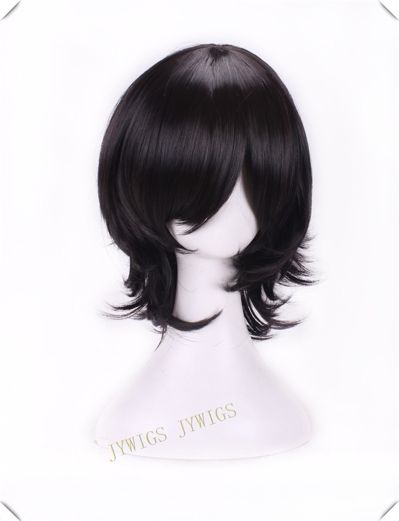 35cm Anime Lovelive Yazawa Nico Short Straight Wig Black Cosplay Wig<br><br>Aliexpress