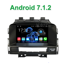 Android 7.1.2 Car DVD Player for Opel Astra J Vauxhall Astra Buick Verano with Radio BT Wifi GPS Navigation(China)