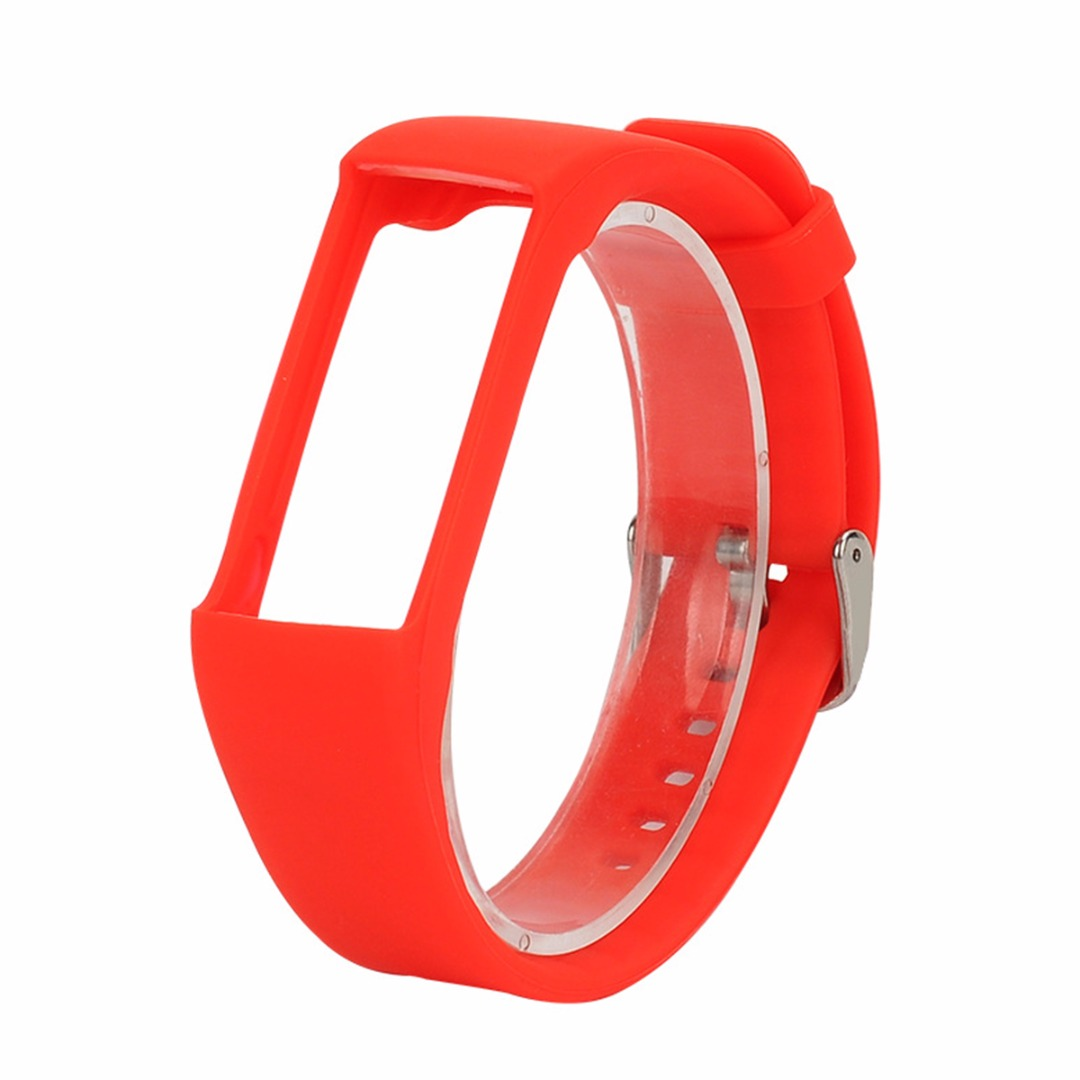 NEW 25cm Silicone Replacement Wrist Strap Changeable Wristband Strap Bracelet Watchband For Polar A360 Watch Fitness Tracker