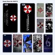 Umbrella Corporation Theme Resident Evil design hard transparent Cover Case for huawei P10 Plus P8 P9 Lite Mate 9 S 8 7
