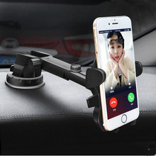 Multifunction mobile phone Bracket plastic Car Phone Clip free Rotation phone holder folding clip for car(China)